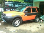 Wrapping Mobil Land Rover