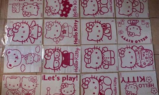 jual sticker hello kitty cantik || Call: 0815-7195-825