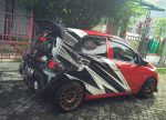 Cutting stiker mobil honda jazz || Call: 0815-7195-825